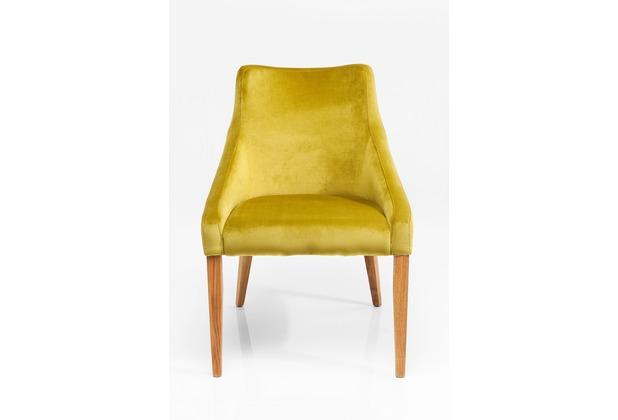 Kare Design Stuhl Mode Velvet Green