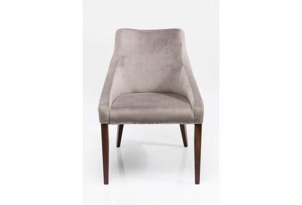 Kare Design Stuhl Mode Velvet Grey