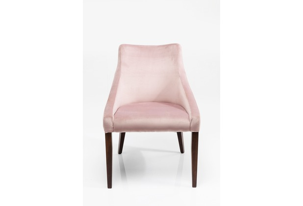 Kare Design Stuhl Mode Velvet Rose