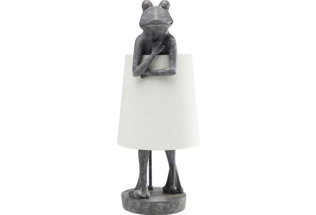 Kare Design Tischleuchte Animal Frog Grau