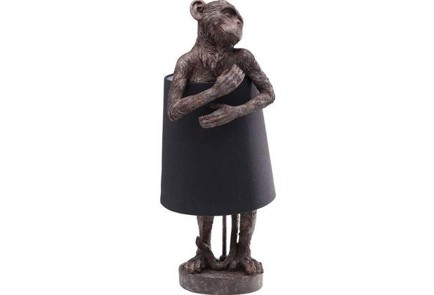 Kare Design Tischleuchte Animal Mokey Braun