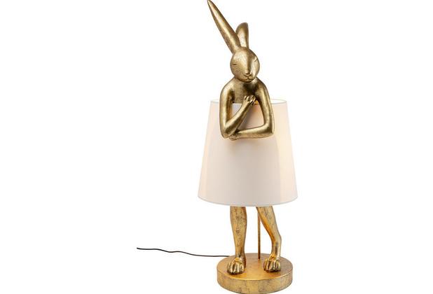 Kare Design Tischleuchte Animal Rabbit Gold 88