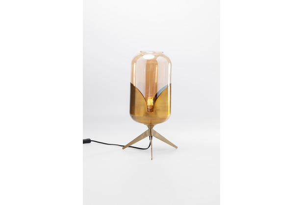 Kare Design Tischleuchte Golden Goblet Pole