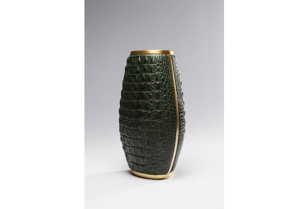 Kare Design Vase Croco Grün 36cm