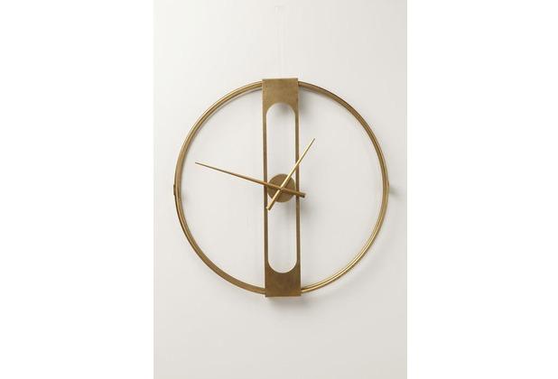 Kare Design Wanduhr Clip Gold Ø60cm