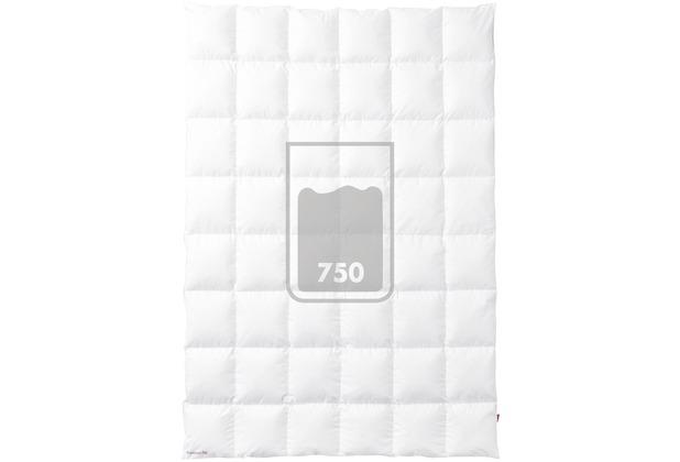 Kauffmann Einziehdecke Premium Bettdecke 400 g 135 x 200 cm