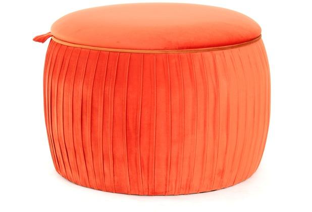 Kayoom Hocker Adoree 110 Orange