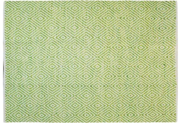 Kayoom Handwebteppich Aperitif 310 Grün 120 x 170 cm