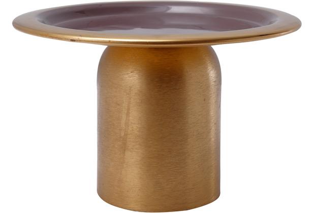Kayoom Kuchenplatte Art Deco 125 Gold / Dunkellila