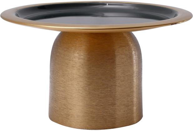 Kayoom Kuchenplatte Art Deco 225 Gold / Dunkelgrün