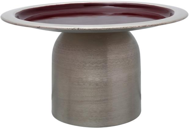 Kayoom Kuchenplatte Art Deco 225 Silber / Pflaume