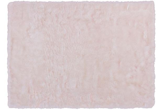 Kayoom Teppich Crown 110 Weiß / Puderrosa 120 x 170 cm