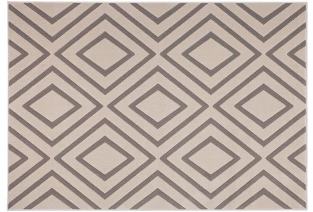 Kayoom Teppich Lina 500 Taupe 120 x 170 cm