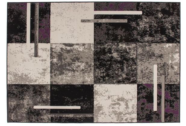 Kayoom Teppich Rohullah 1010 Grau / Elfenbein 120 x 170 cm
