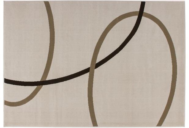 Kayoom Teppich Rohullah 4010 Elfenbein 120 x 170 cm