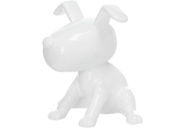 Kayoom Skulptur Beagle II 21-J Weiß