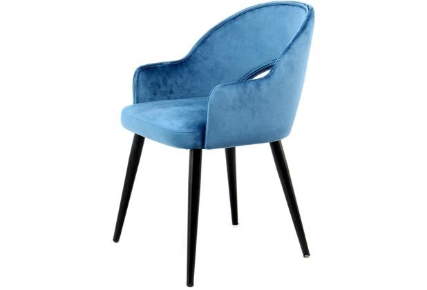 Kayoom Stuhl Joris 110 2er-Set Blau