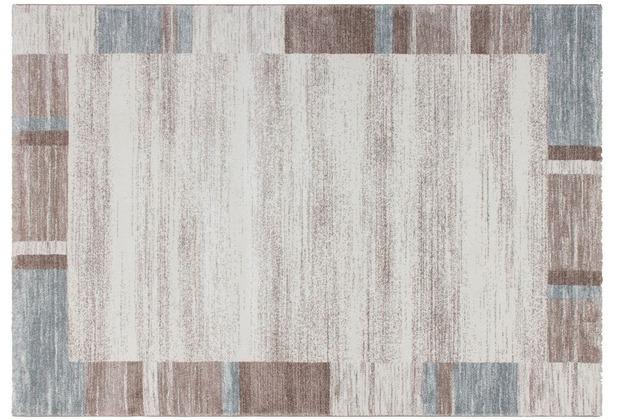 Kayoom Teppich Falkland - Darwin Pastellblau 120 x 170 cm