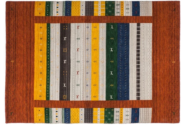 Kayoom Teppich Bhutan - Jakar Rot 120 x 170 cm
