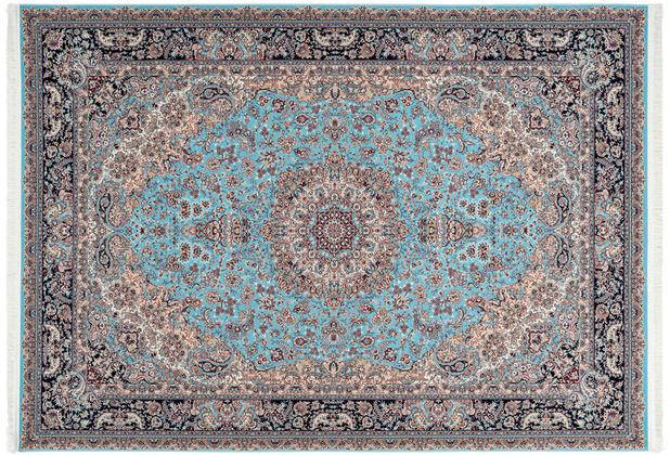 Kayoom Teppich Kuwait - Abdali Blau 160 x 230 cm