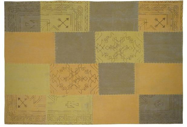 Kayoom Teppich Lyrical 210 Multi / Gelb 120 x 170 cm