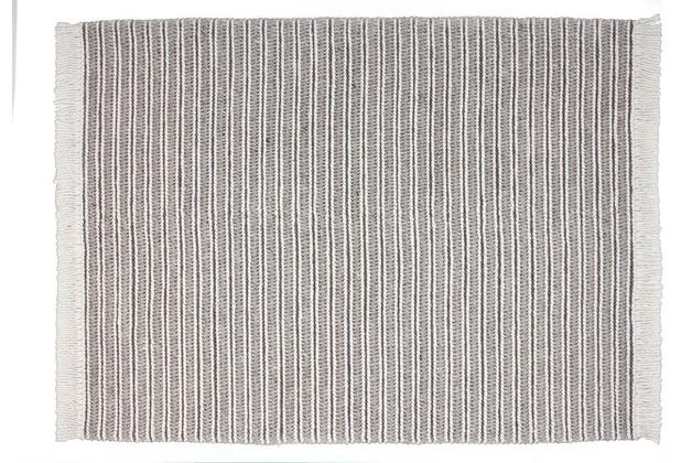 Kayoom Teppich Natura 110 Natural / Grau 120 x 170 cm