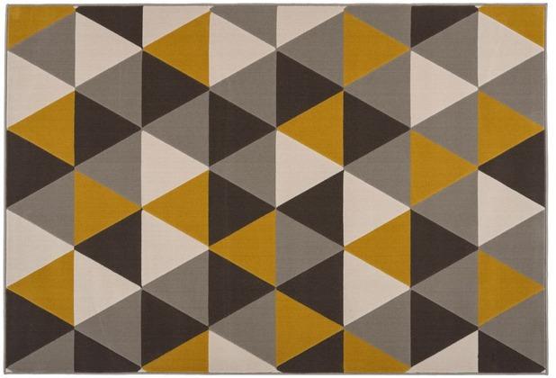 Kayoom Teppich Now! 200 Multi / Gold 120 x 170 cm