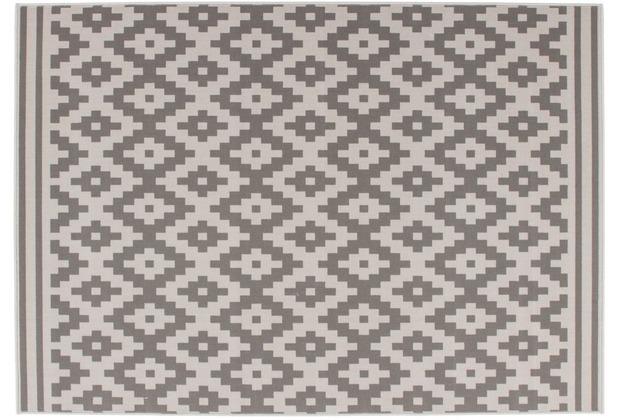 Kayoom Teppich Now! 300 Taupe 120 x 170 cm