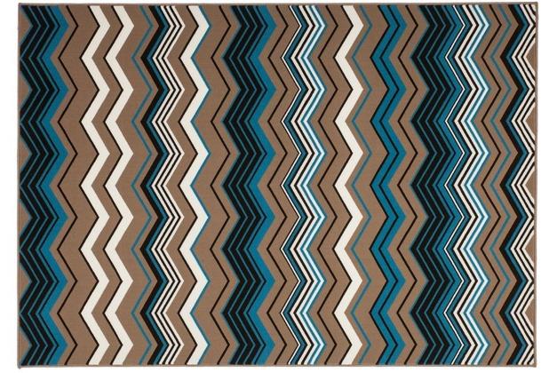 Kayoom Teppich Now! 900 Multi / Braun 120 x 170 cm