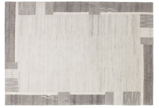 Kayoom Teppich Myanmar - Rangoon Grau 120 x 170 cm