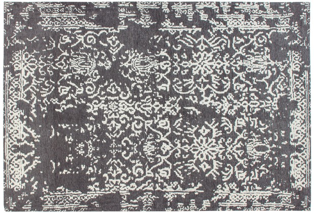 Kayoom Teppich River 130 Grau / Anthrazit 120 x 170 cm