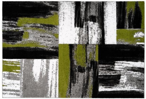 Kayoom Teppich Dominica - Roseau Grün 120 x 170 cm