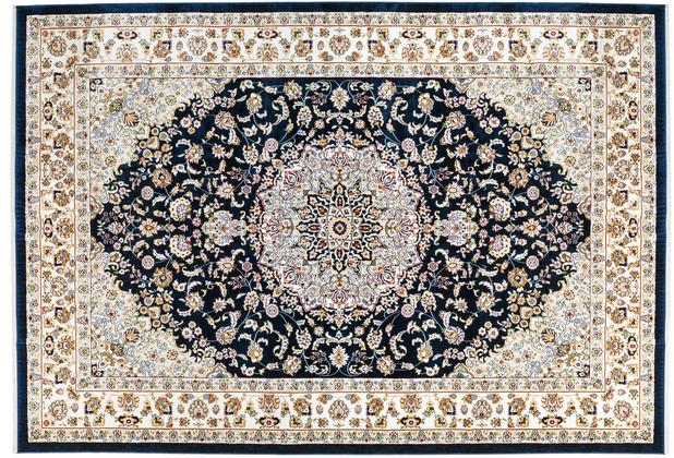 Kayoom Teppich Scotland - Edinburgh Navyblau 140 x 200 cm
