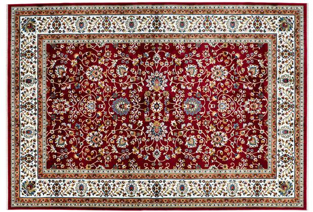 Kayoom Teppich Scotland - Glasgow Rot 140 x 200 cm