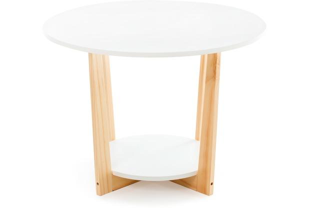 Kayoom Tisch / Coffeetable Pure Living Weiß