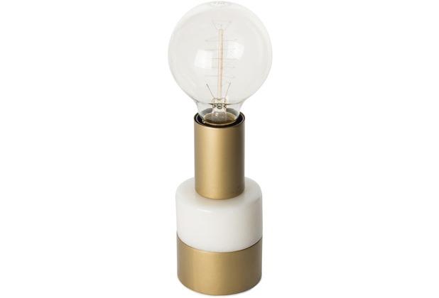 Kayoom Tischlampe Lalande Weiß