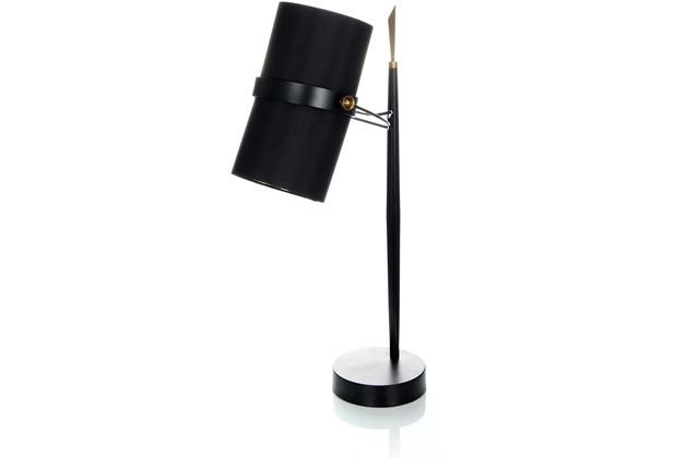 Kayoom Tischlampe Novum 110 Schwarz