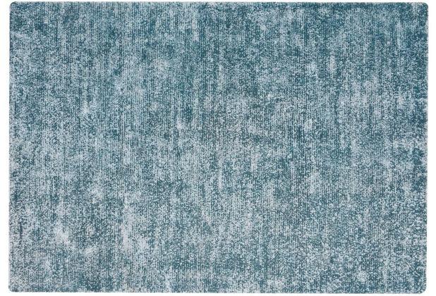 Kayoom Teppich Etna 110 Petrol 120 x 170 cm