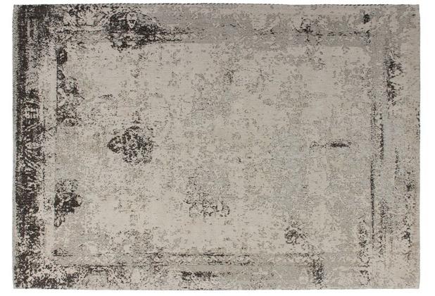 Kayoom Teppich Nostalgia 285 Anthrazit 120 x 170 cm