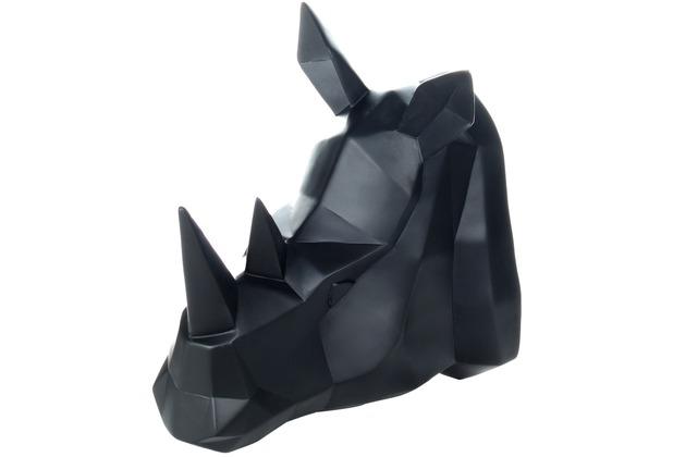 Kayoom Wanddeko Rhino 110 Schwarz