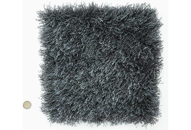 Kaiya Hochflor-Teppich Elias 23 grau Wunschmaß