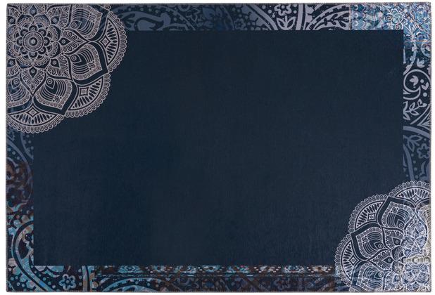 Kenda Sand Teppich Medley 125 Multi / Blau 130 x 190 cm