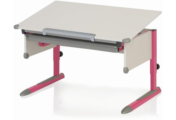 Kettler Schreibtisch COLLEGE BOX II Weiß/Pink
