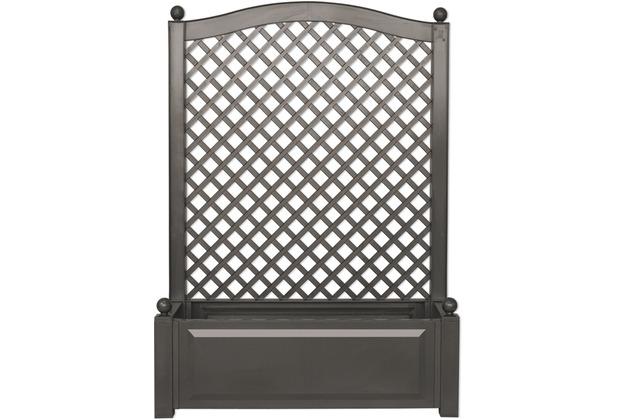 khw pflanzkasten 100x140x43 anthrazit mit spalier anthrazit. Black Bedroom Furniture Sets. Home Design Ideas