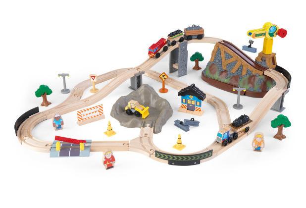 Kidkraft Holzeisenbahn-Set
