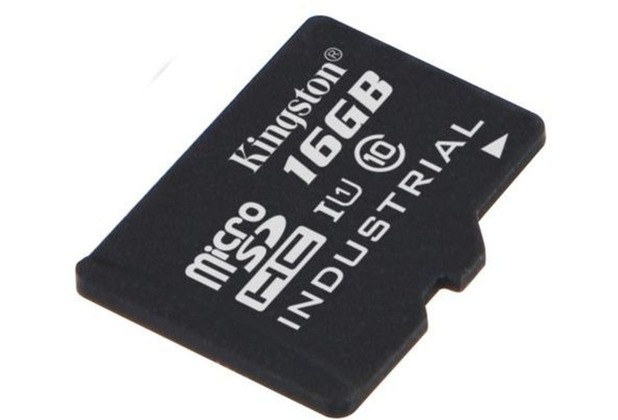 Kingston microSDHC Industrial Temp UHS-1, 16GB ohne SD Adapter