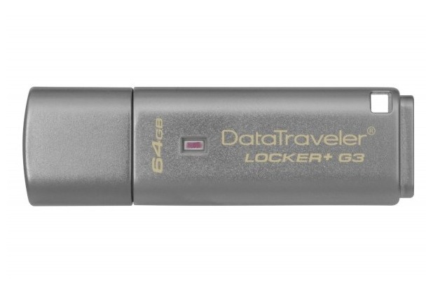 Kingston USB Stick 3.0 64GB DataTraveler Locker + G3