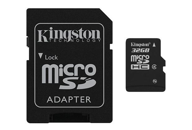 Kingston microSDHC Speicherkarte, Class4, 32GB