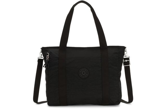 Kipling Basic Asseni Shopper Tasche 49 cm black noir