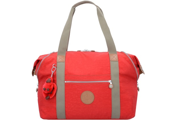 Kipling Basic Plus Art M Weekender Reisetasche 58 cm true red c